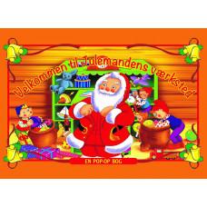 Karrusel forlag - Pop-op bog - Velkommen til Julemandens værksted