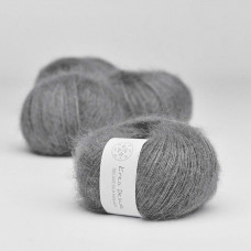 Krea Deluxe - Deluxe Silk Mohair - Nr. 50 Mørkegrå