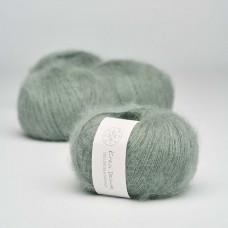 Krea Deluxe - Deluxe Silk Mohair - Nr. 33 Støvet grøn