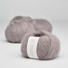 Krea Deluxe - Deluxe Silk Mohair - GOTS certificeret økologisk garn - nr. 44 Støvet lavendel