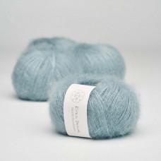 Krea Deluxe - Deluxe Silk Mohair - Nr. 25 Støvet lyseblå