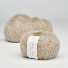 Krea Deluxe - Deluxe Silk Mohair - GOTS certificeret økologisk garn - nr. 46 Sand