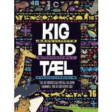 Kig - Find - Tæl - Opgavebog - Find dyrene