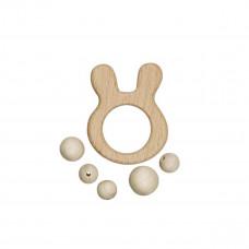Krea Deluxe - Tilbehør - Kanin - Træting til aktivitetslegetøj med stjerne