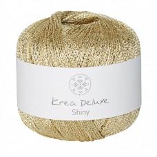 Krea Deluxe - Shiny glimmer garn ecofriendly - Guld