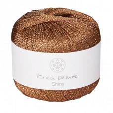 Krea Deluxe - Shiny glimmer garn ecofriendly - Kobber