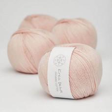 Krea Deluxe - GOTS certificeret økologisk bomuldsgarn - Lys rosa nr. 8