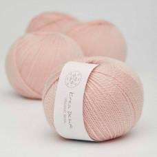 Billigt Garn - Krea Deluxe - Organic wool 1 - GOTS certificeret økologisk uldgarn - nr. 08 - UDGÅR