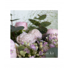Krea Deluxe - Hækle/strikkekit - Smuk buket incl. 3-4 hæklede eller strikkede roser - Mors dag