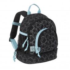 Lässig - Børnerygsæk - Mini Backpack med vådrum - Spooky sort