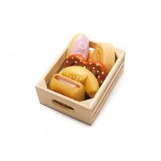 Le Toy Van - Legemad i træ - Honeybake - Morgenbrød