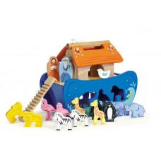Le Toy Van - Puttekasse - Noahs Ark  - Blå