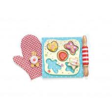 Le Toy Van - Legemad i træ - Honeybake - Små kage sæt