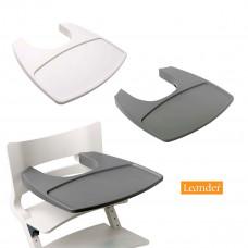 Leander - Bakkebord til højstol - Hvid eller Grå