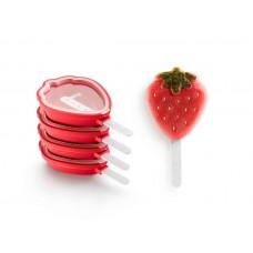 Lékué - Silikone Isform - Jordbær 4 stk