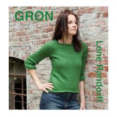 Lene Randorff Lillestrik strikkebog, Grøn