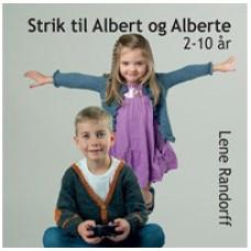 DIY Lillestrik - Strikkebog - Strik til Albert og Alberte str. 2-10 år