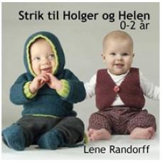 DIY Lillestrik - Strikkebog - Strik til Holger og Helen str. 0-2 år