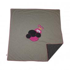 Little Juno - Babytæppe/Legetæppe Øko Tex - Pink