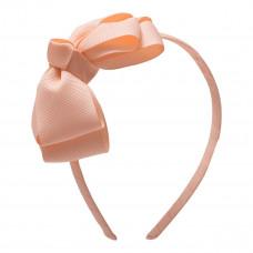 Little Wonders - Alexis - Hårbøjle med sløjfe - Petal Peach