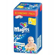 Magics - Engangsbleer - Baby bleer - Premium Mini 3-6 kg - 68 stk.