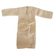 Maileg - Tøj til medium kanin - Morgenkåbe i creme