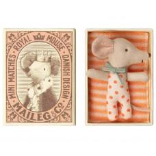 Maileg - Baby pigemus i tændstikæske