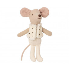 Maileg - Dansemus - Lillebror mus i tændstikæske