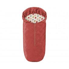 Maileg - Dukkehus tilbehør til mus - Sovepose - Rust rød