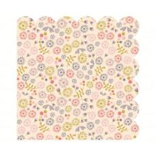 Maileg - Servietter - Liberty blomster rosa - 20 stk