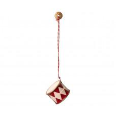 Maileg - Julepynt - Christmas ornaments - Tromme - Rød