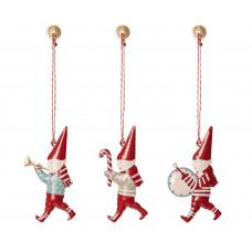 Maileg - Julepynt - Christmas ornaments - 3 stk. i box - Kravlenisser