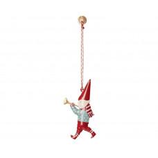 Maileg - Julepynt - Christmas ornaments - Pixies med trompet