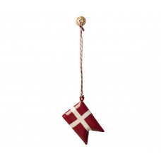 Maileg - Julepynt - Christmas ornaments - Dannebrogs flag