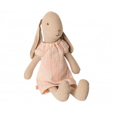 Maileg - Mini kanin i lækker, stribet natkjole