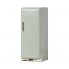 Maileg - Dukkehus tilbehør - Retro miniature køleskab i metal - Mint