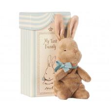 Maileg -  My first bunny - Blå gaveæske