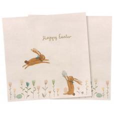 Maileg - Servietter - Happy Easter field - 16 stk