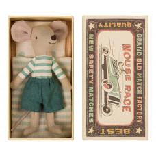 Maileg - Storebror mus - I tændstikæske