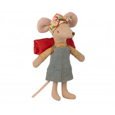 Maileg - Vandremus med sovepose - Storesøster mus