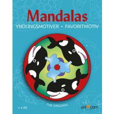Forlaget Unicorn - Malebog Mandalas - Ynglingsmotiver