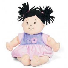 Manhattan Toys - Baby Stella dukke - Mørk hår