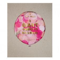 Meri Meri - Gigant confetti ballon kit - Pink