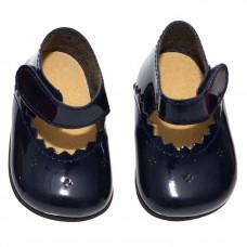 Asi - Tilbehør - Dukke sko - Mørkeblå med spænde