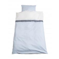 Junior sengetøj - Klassisk tern - Lyseblå