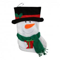Julesok - Hvid snemand