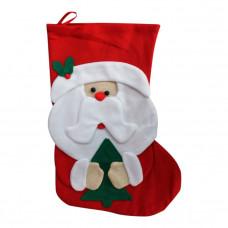 Julesok - Rød - Julemand
