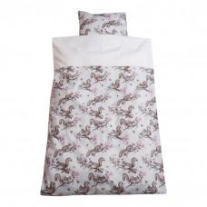 Junior sengetøj - Egern - Rosa