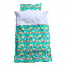 Baby sengetøj - Ugler