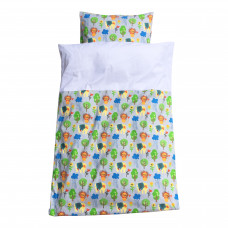 Baby sengetøj - Wild - Grå